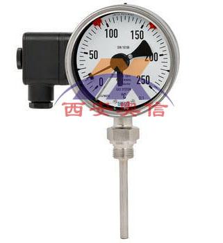 WIKA威卡电子式电接点双金属温度计55+830E