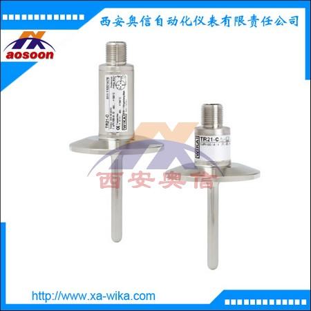 WIKA温度传感器 微型热电阻温度计TR21-C 威卡温度计