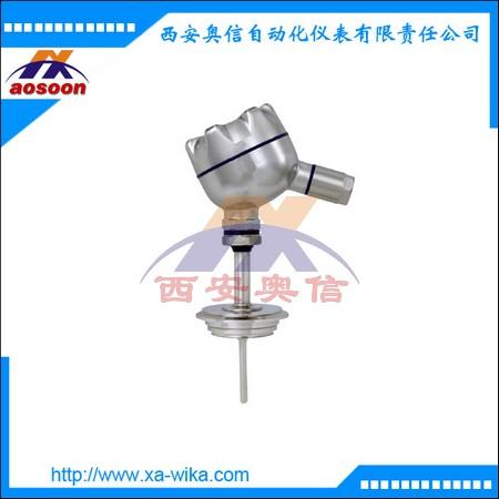 wika温度变送器TR22-A 德国威卡TR22-A温度计 法兰连接热电阻