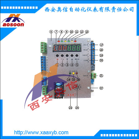 电动执行机构控制板,ASAP4-1,控制板