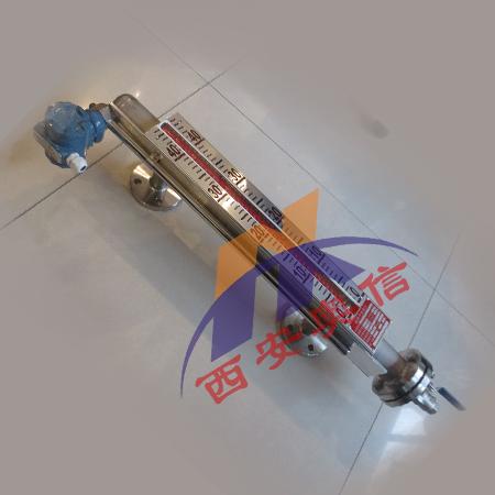 磁翻板液位计带远传,UHZ-528液位计,磁性翻板液位计原理
