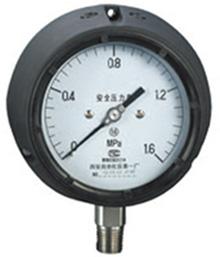 YQS-100、YQSN-100,YQS-150、YQSN-150酚醛壳安全压力表
