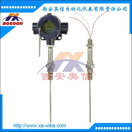 TR12-M现场热电阻 基础型热电阻温度计 PT100 可选防爆