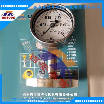 德国WIKA隔膜耐震压力表233.50.100+990.27 卫生隔膜压力表