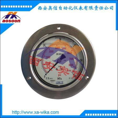 233.50.063和233.50.100不锈钢耐震压力表 威卡wika授权