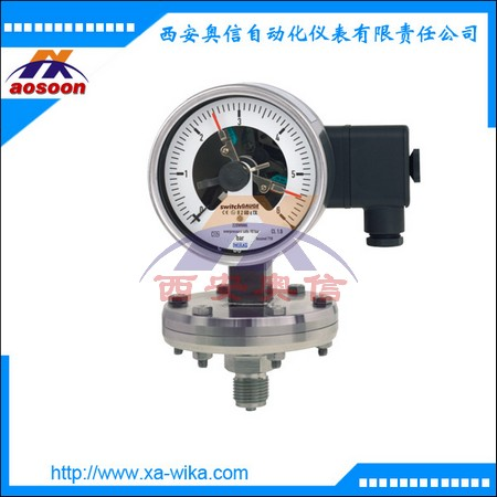 WIKA电接点压力表232.50+821.22 不锈钢 威卡wika代理