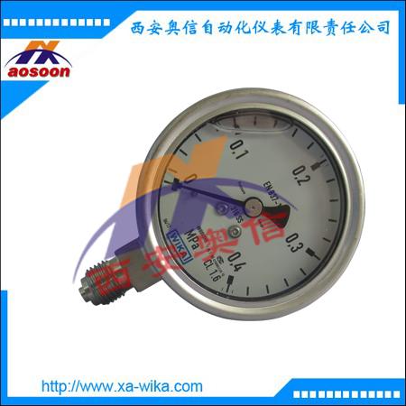 威卡wika压力表 EN837-1耐震压力表 233.50.160