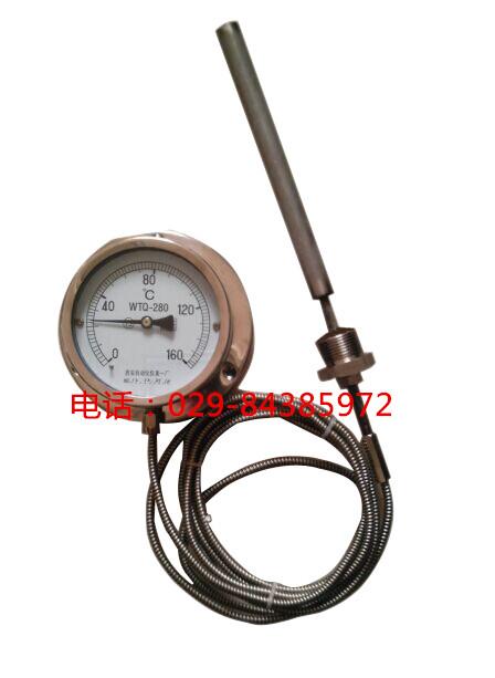 全不锈钢压力温度计WTQ-280BF