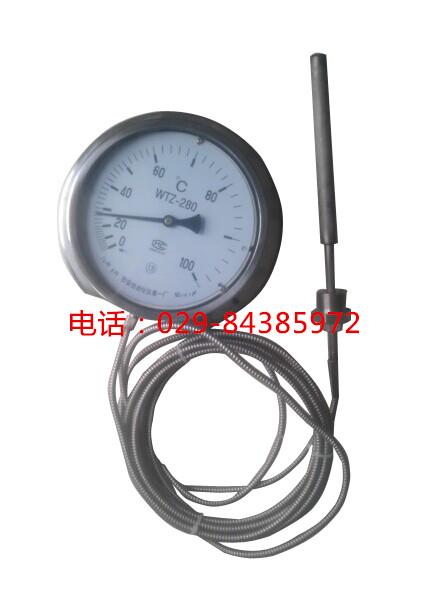 全不锈钢压力温度计WTZ-280BF