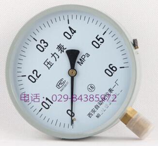 Y-150普通 弹簧管压力表