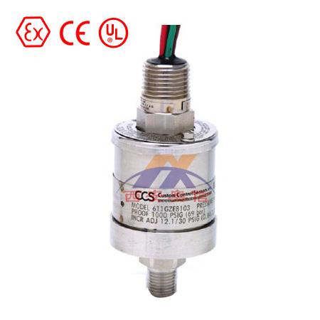 611G8007 611GE8007 美国CCS压力开关 紧凑型压力控制器