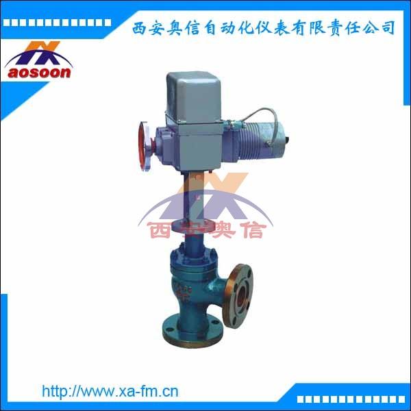 ZAZS-16 DN50电动角形调节阀 ZAZS电动角形调节阀