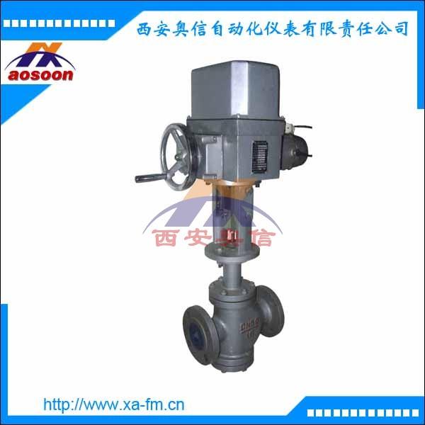 ZAZN-16电动双座调节阀 ZAZN电动直通双座调节阀