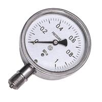 不锈钢压力表YTF-100 YTF-150西安仪表厂全不锈钢压力表