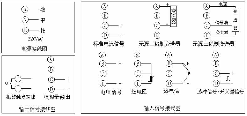 无纸记录仪接线图