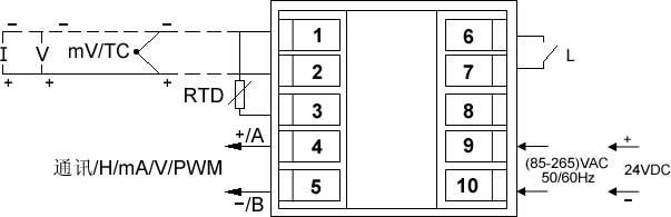 听爱桌603分频器接线图