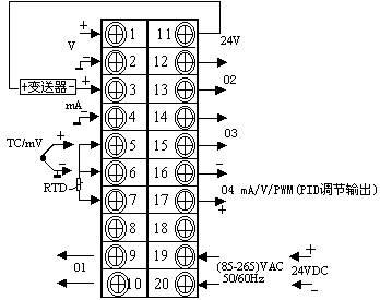 DY-CA分时段PID调节器