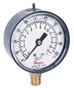 美国DWYER63000系列液体填充的波登管式压力表