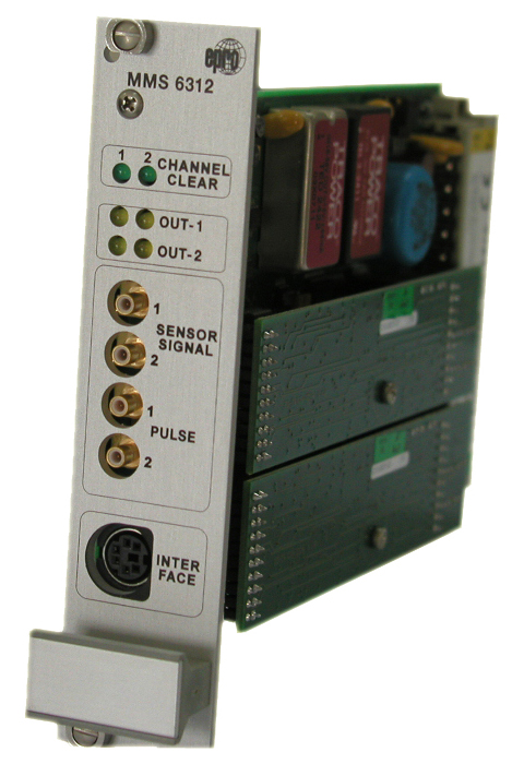 MMS6312 双通道转速/键相模块 MMS6312 EPRO