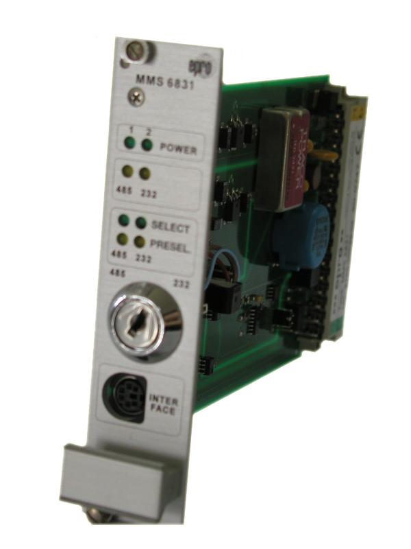 MMS6210 双通道轴位移测量模块 MMS6210