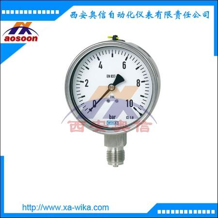 PGE23.100 威卡压力表 全不锈钢耐震压力表1.6MPa WIKA现货