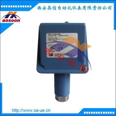 UE开关代理 H100-189美国UE高压泵压力开关H100-189-XD002