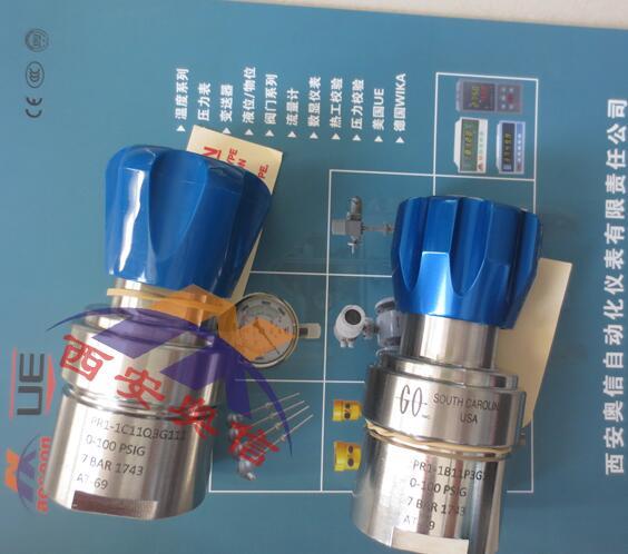 原装进口代理PR1-1A41A3D111美国GO调压器